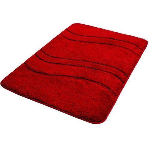 20495221f9ee06 Dywanik łazienkowy BISK One 60 X 90 cm Mikrofibra Czerwony - Foto Dywanik  łazienkowy BISK One