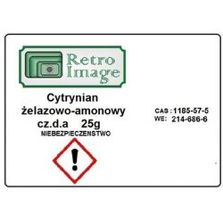 Pozostałe akcesoria do ciemni  Retro Image fotociemnia.pl