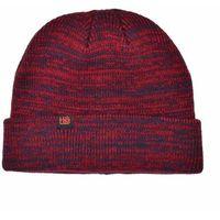 czapka zimowa HABITAT - Traveler Indigo/Red (CERVENA)