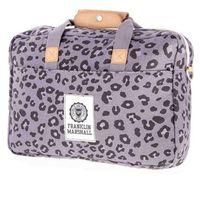 torba na ramię FRANKLIN & MARSHALL - Fashion reporter - leopard all over (71) rozmiar: OS