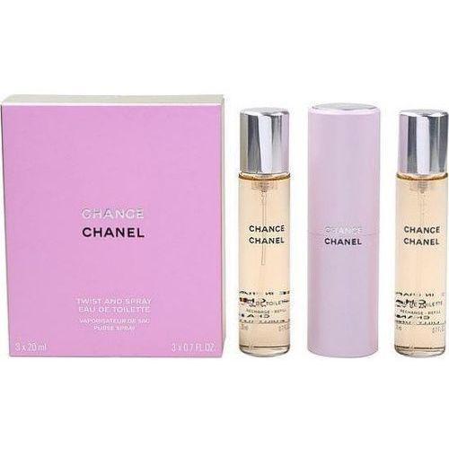 Chanel Chance - wielokrotnego napełniania, Woda toaletowa, 3x20ml