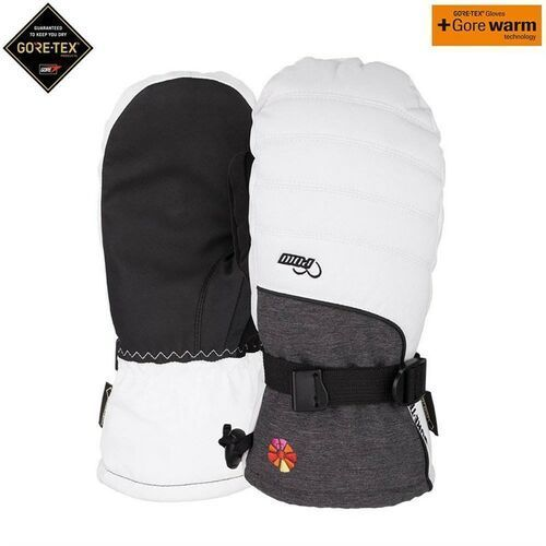Rękawice - ws falon gtx mitt +warm white (b4bc) (short) (wh) rozmiar: xs marki Pow