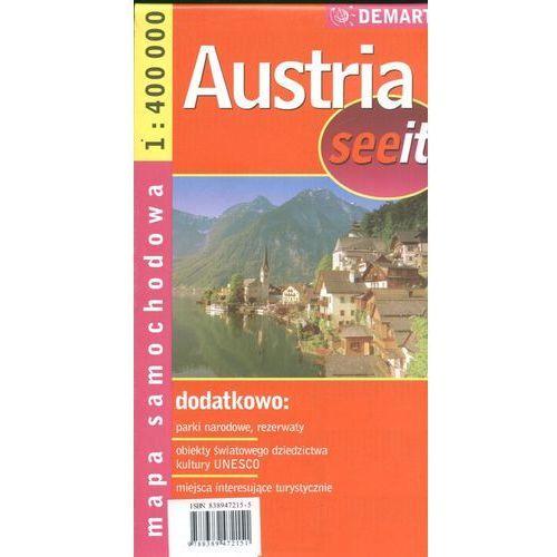 Austria 1:400 000 mapa samochodowa (8389472155)