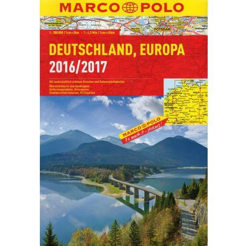 MARCO POLO Reiseatlas Deutschland 2016/2017, oprawa broszurowa