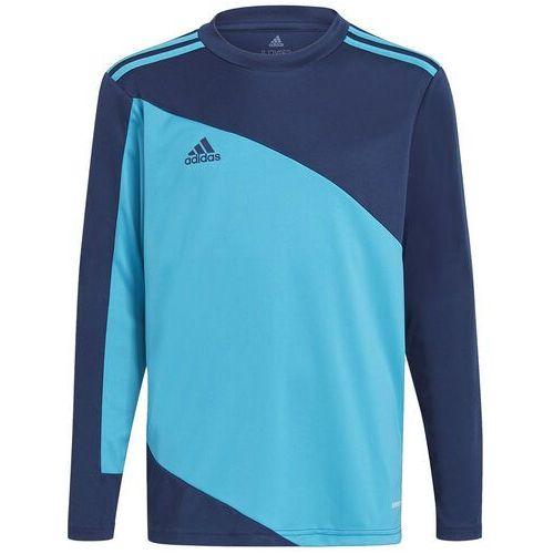 Adidas Bluza bramkarska dla dzieci squadra 21 goalkepper jersey youth niebiesko-granatowa gn6947