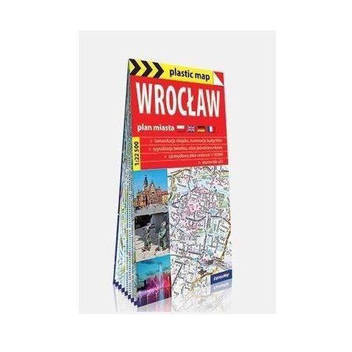 Plastic map Wrocław 1:22 500 plan miasta - Praca zbiorowa, ExpressMap