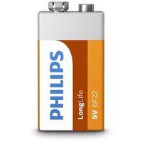 Philips longlife bateria 6f22l1b/10