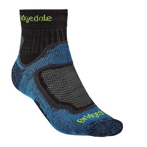 Sportowe skarpety trail sport lt t2 merino coolmax - blue marki Bridgedale