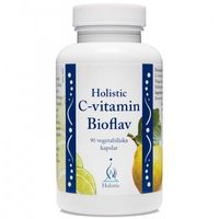 Holistic C-vitamin Bioflav 90 kaps. (7350012330590)