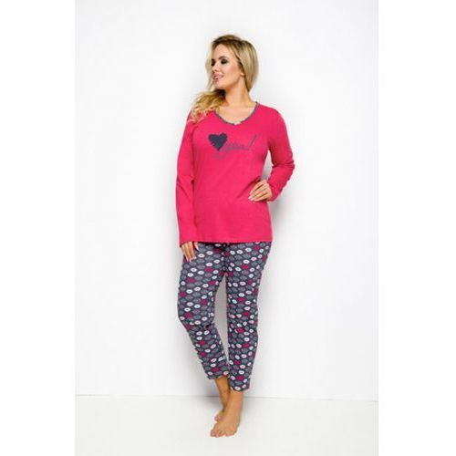 ef34b3f9b29d29 lena 146 czerwony piżama damska marki Taro - Zdjęcie lena 146 czerwony piżama  damska marki Taro