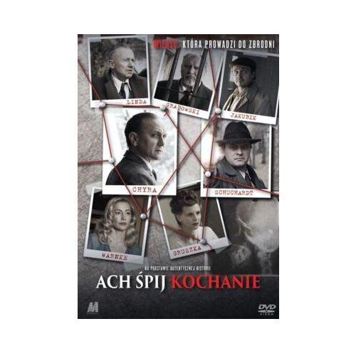 Monolith Ach śpij kochanie (dvd) + książka