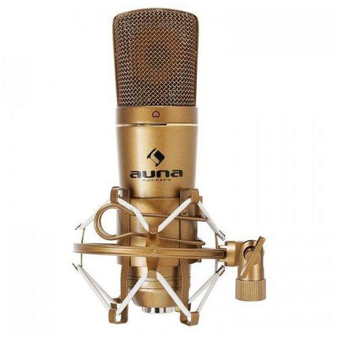 Cm600 studyjny mikrofon pojemnościowy usbbrązowy marki Auna