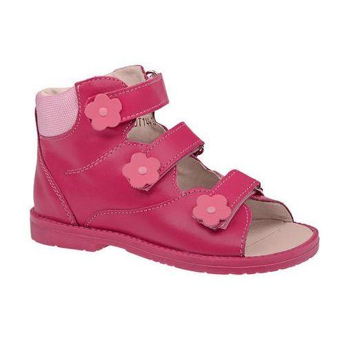 Dawid Trzewiki profilaktyczne ortopedyczne buty 953-3 rc różowe - różowy ||fuksja ||multikolor