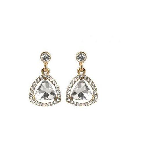 Kolczyki wiszące kryształy cyrkonie delikatne k24 Kasandra