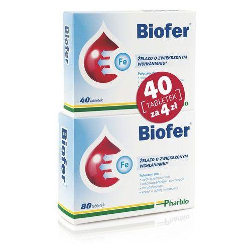 Tabletki Biofer tabl. x 80