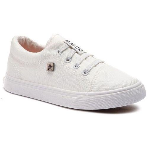 Sneakersy BIG STAR - DD374074 White