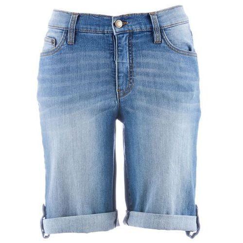 082be4dc2 Bonprix Szorty dżinsowe niebieski - Galeria Bonprix Szorty dżinsowe  niebieski