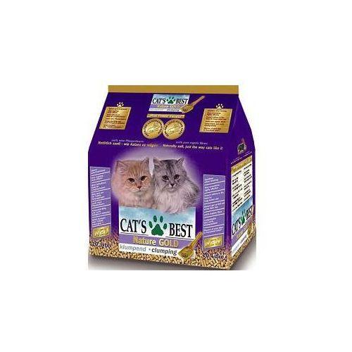 Żwirek nature gold smart pellets żwirek dla kotów długowłosych 10l/5kg marki Cat's best