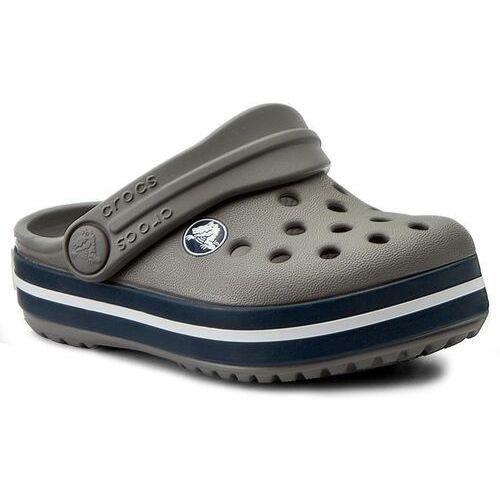 bf23279fe98081 Crocs Klapki - crocband clog k 204537 smoke/navy Crocs