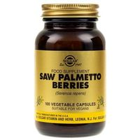 Solgar Saw Palmetto Berries (Palma Sabałowa) - 100 kapsułek