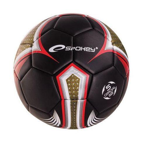 Piłka nożna SPOKEY 835918 Velocity Spear Srebrno-Czerwony (rozmiar 5)