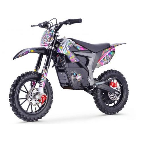 Stomp racing Stomp wired pit bike elektryczny - splatter (5902376461025)