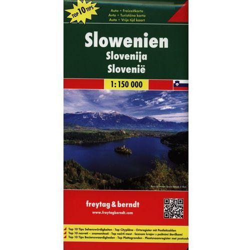 Słowenia 1:150 000. Mapa samochodowa, składana. Freytag&Berndt (9783707904734)