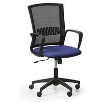Krzesło biurowe roy, niebieski marki B2b partner