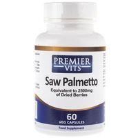 Kapsułki Premier Vits Saw Palmetto (Palma Sabałowa) - 60 kapsułek