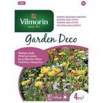 Kwiaty wabiące ptaki: maczek kalifornijski, cynia, czarnuszka 8g garden deco marki Vilmorin