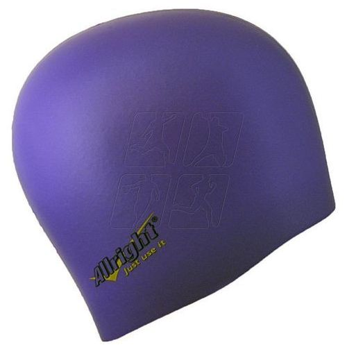 Allright Czepek pływacki silikonowy fioletowy
