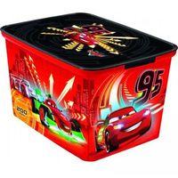 Dziecięcy plastikowy box, pudełko - L - CARS CURVER
