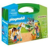 Playmobil Skrzyneczka Pielęgnacja koni 9100 (4008789091000)