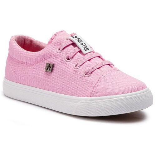 Sneakersy - dd374076 pink marki Big star