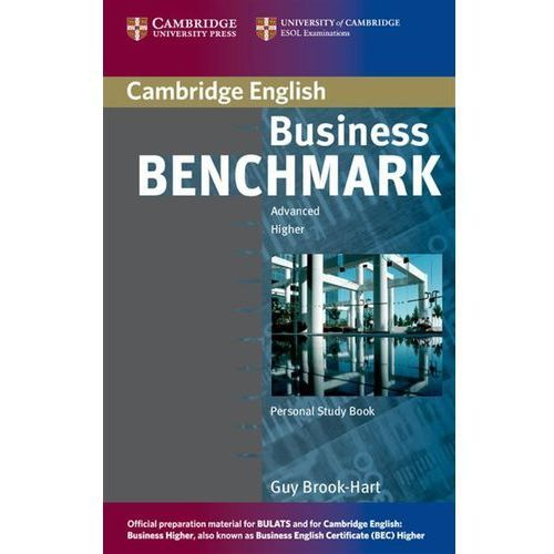 Business Benchmark, Advanced Higher, Personal Study Book, for BEC and BULATS, Cambridge University Press