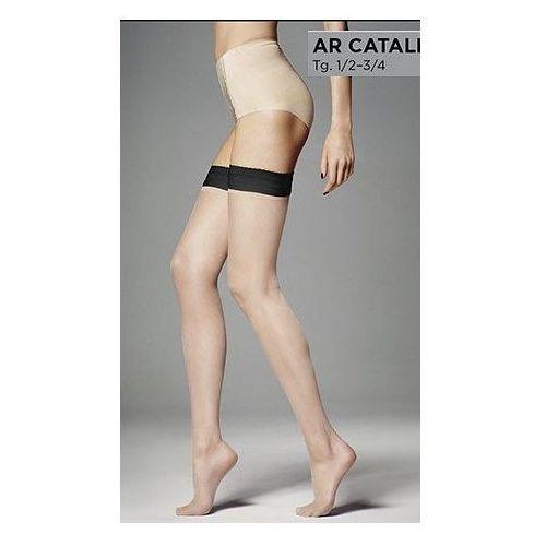 pończochy ar catalina 15 • rozmiar: 3/4 m/l • kolor: nero-nudo marki Veneziana