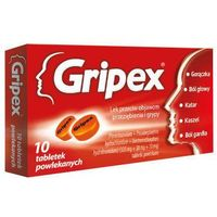 GRIPEX x 10 tabletek