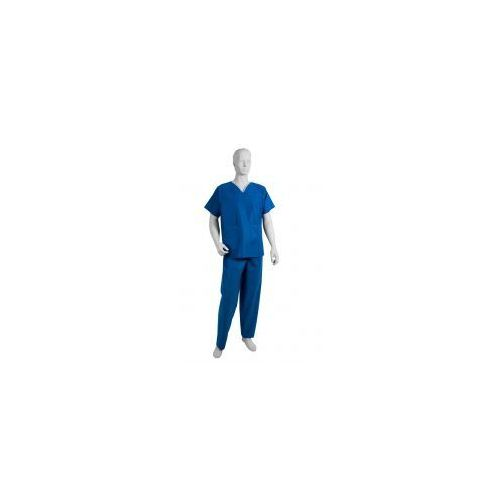 """Komplet chirurgiczny z włókniny niebieski """"L"""" 1szt"""