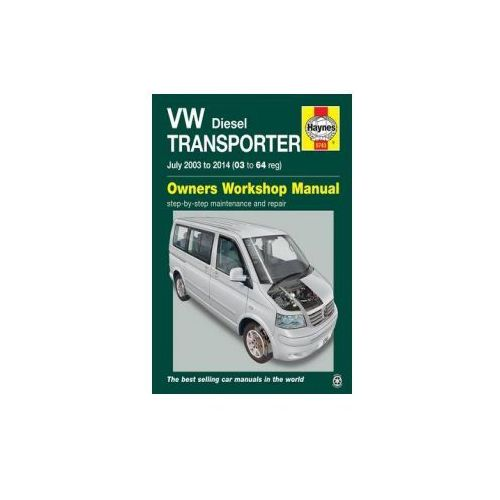 VW Transporter (T5) Diesel Owner's Workshop Manual, Haynes Publishing Group
