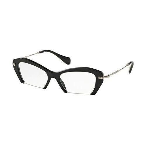 Miu miu Okulary korekcyjne mu03ov rasoir 1ab1o1