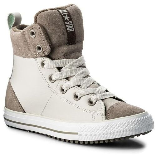 Converse Trzewiki - ctas asphalt boot hi 658068c pale putty/malted/engine smoke