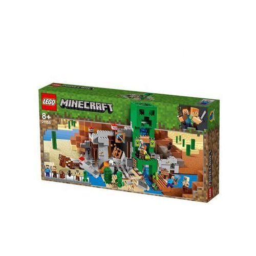 LEGO zestaw Minecraft 21155 Kopalnia Creeperów
