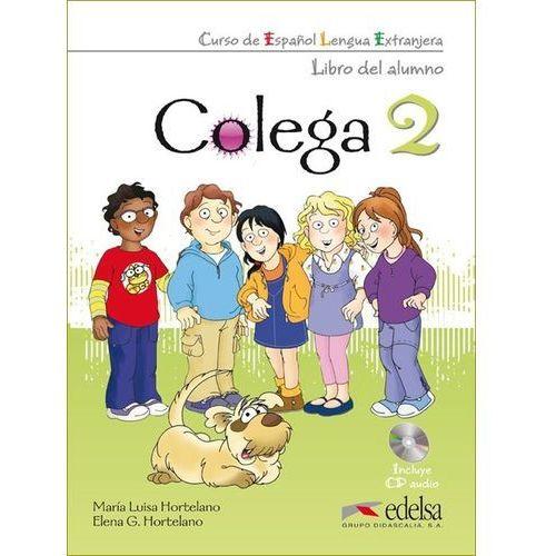 Colega 2. Podręcznik z Ćwiczeniami + CD, oprawa miękka