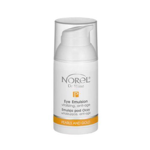 Norel (dr wilsz) pearls and gold eye emulsion vitalizing, anti-age witalizująca, anti-age emulsja pod oczy (pz075)