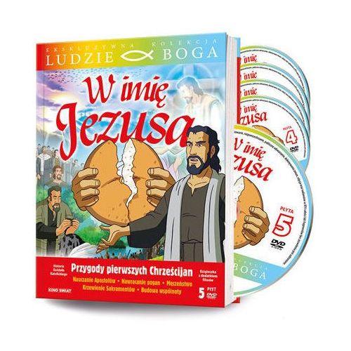 Praca zbiorowa W imię jezusa - książka + 5 dvd + film dvd