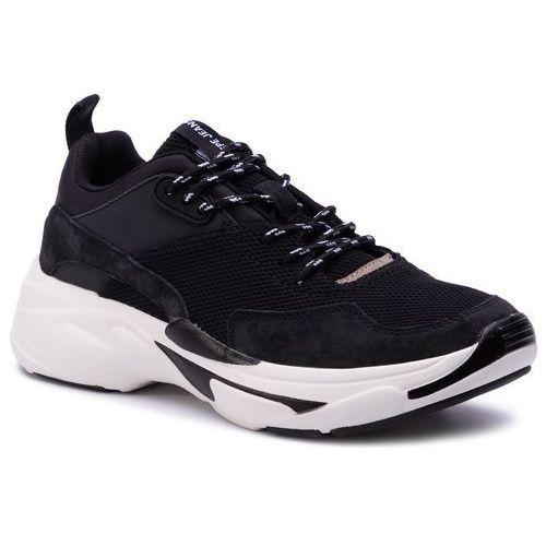 Sneakersy PEPE JEANS - Sinyu Man 19 PMS30570 Black 999
