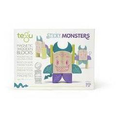 Tegu Zestawy sticky monsters. pip, 8szt.