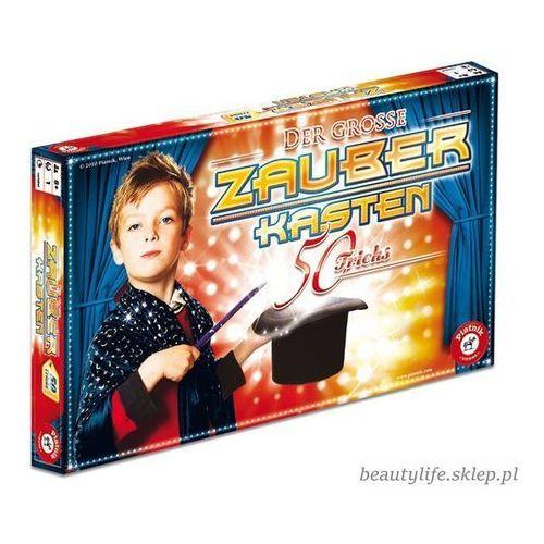 Sztuczki magiczne Magiczne pudełko: 50 sztuczek - DARMOWA DOSTAWA OD 250 ZŁ!!