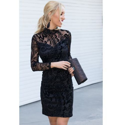 Sukienka LIVIA, kolor czarny