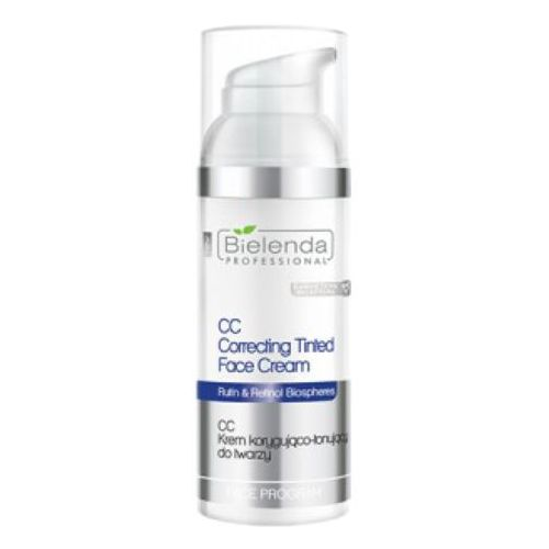 Cc correcting tinted face cream cc krem korygująco-tonujący do twarzy Bielenda professional